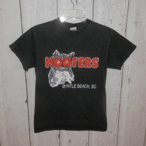 Vintage Hooters Graphic T Shirt Womens Size Small